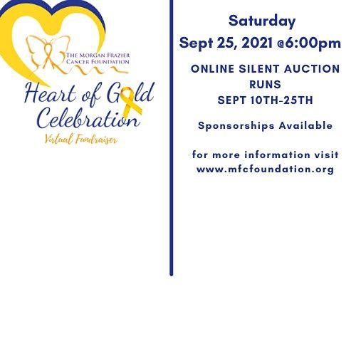 3rd Annual Heart of Gold Celebration Honoring Childhood Cancer  Survivors, 25 September | Online Event | AllEvents.in