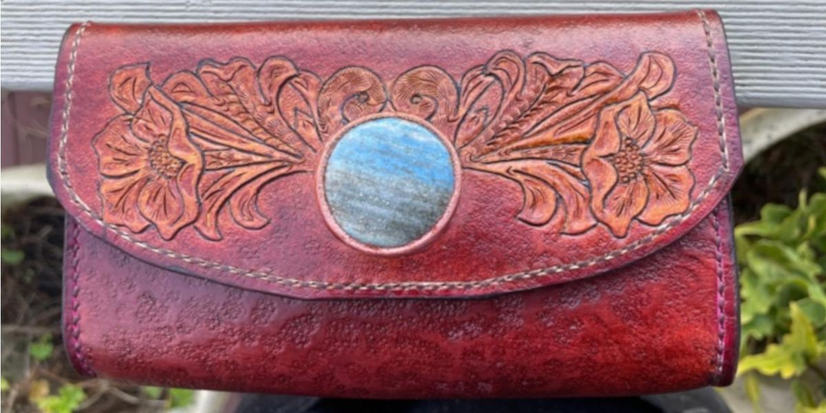 Stone Inlay Leather Purse with Les Williams, 13 November | Event in West Melbourne | AllEvents.in