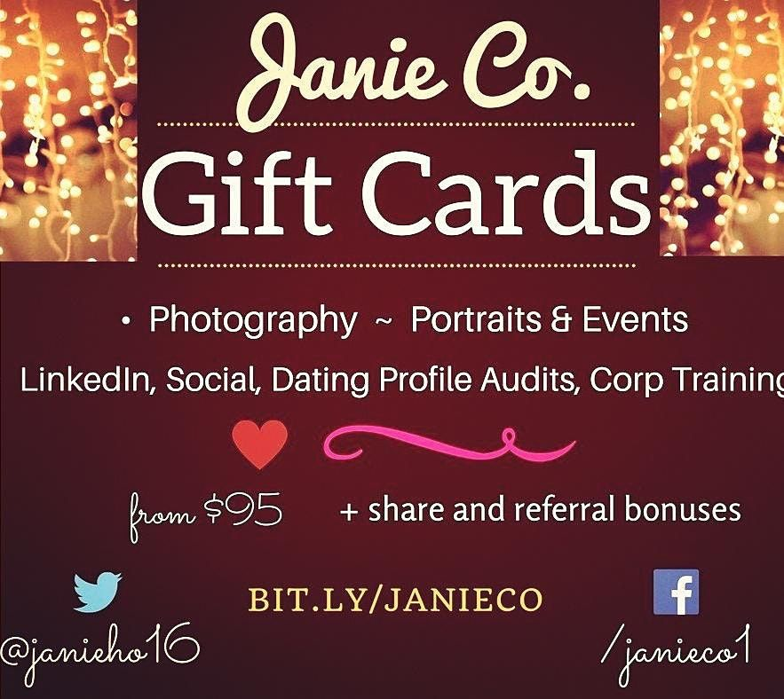 Portrait Photography Gift Cards or LinkedIn, Social + Digital Consulting  | Online Event | AllEvents.in