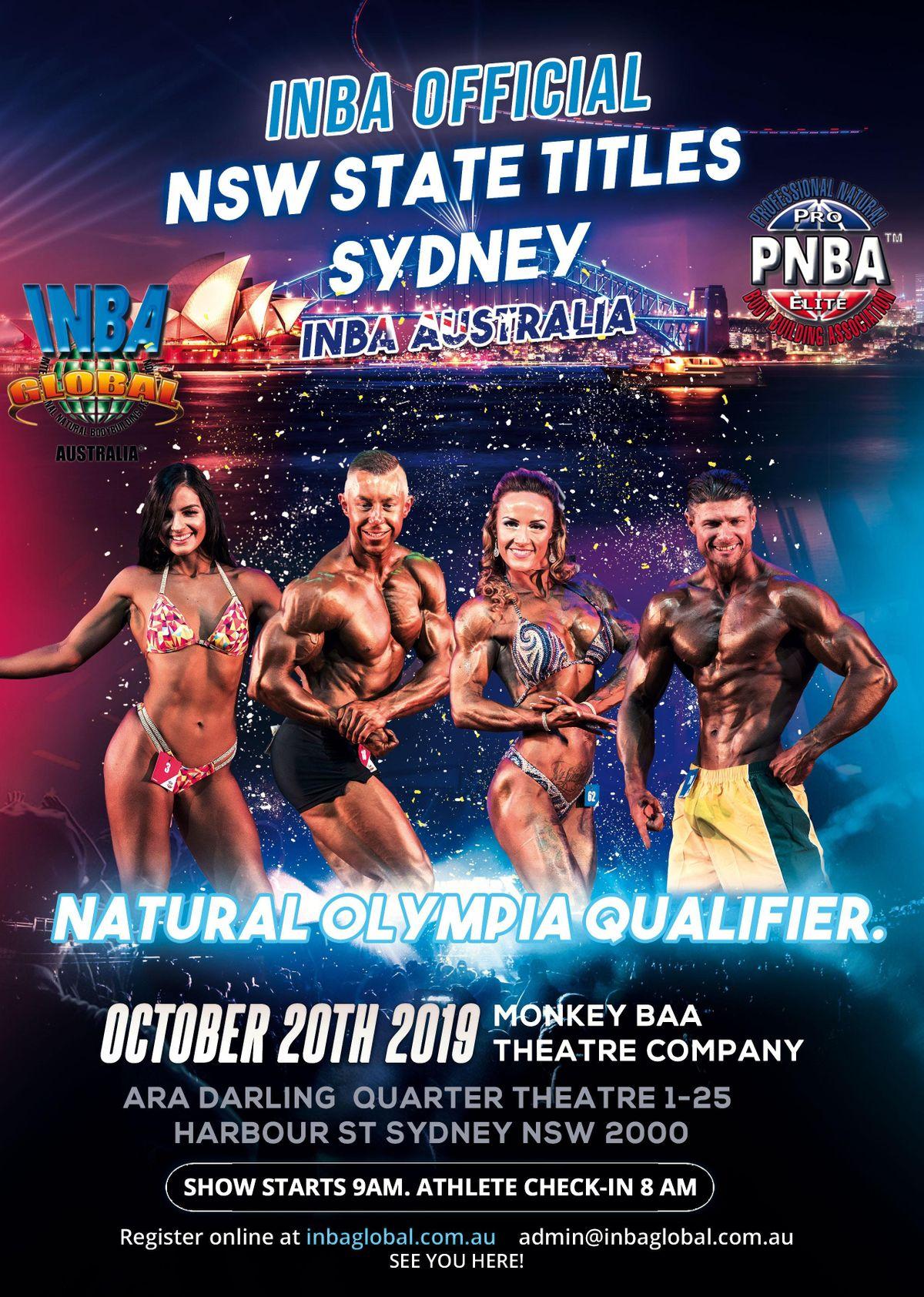 INBA GLOBAL AUSTRALIA NSW STATE TITLES