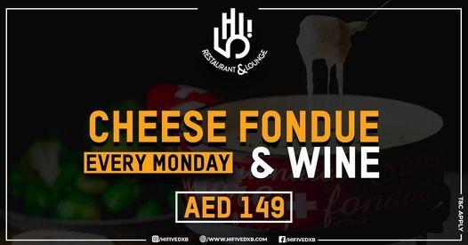 Cheese fondue and wine | Event in Dubai | AllEvents.in