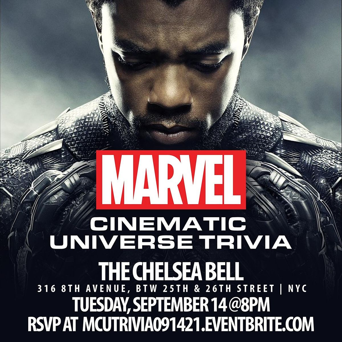 Marvel Cinematic Universe Trivia | Event in New York | AllEvents.in