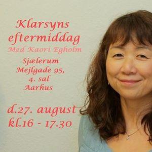 Klarsynseftermiddag med Kaori