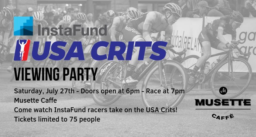 InstaFund La Prima USA Crits Viewing Party