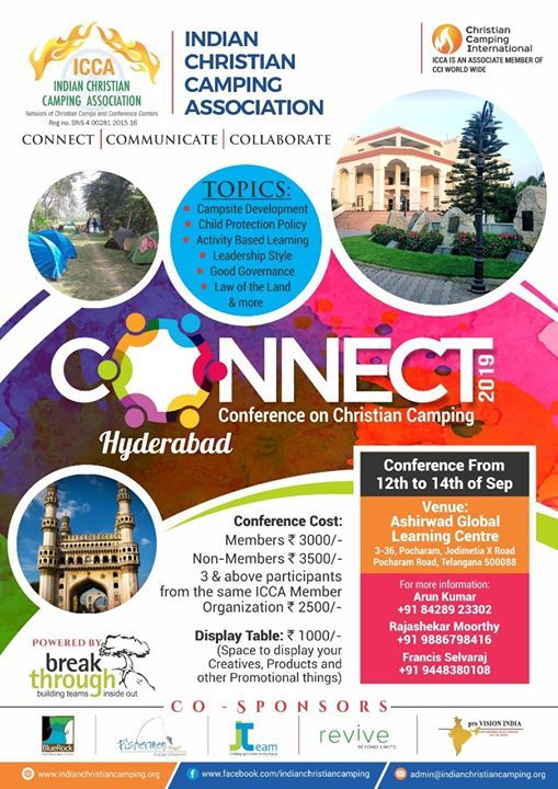 Connect 2019 ICCA Annual Conference at Ashirvad Global
