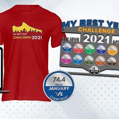 My Best Year Run Walk Challenge 2021 - Santa Clara