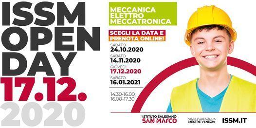 OPEN DAY / MECCANICA - ELETTRO - MECCATRONICA / 17.12.2020, 17 December | Event in Mestre | AllEvents.in