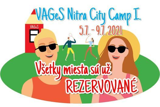 VAGeS Nitra City Camp I., 5 July   Event in Nitra   AllEvents.in