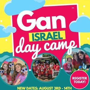 Camp Gan Israel 2020 New Dates
