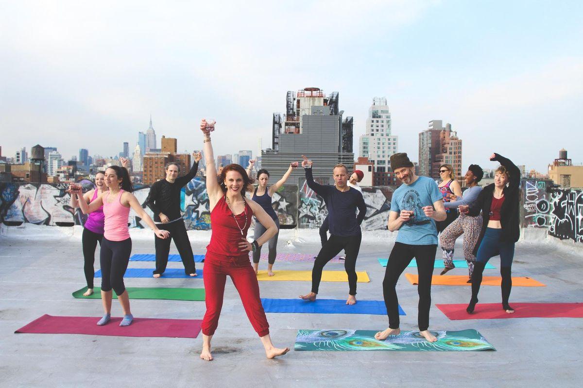 Spirit(s) Yoga at Moxy Times Square
