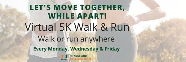 COVIDCANES5K Virtual 5K Walk & Run