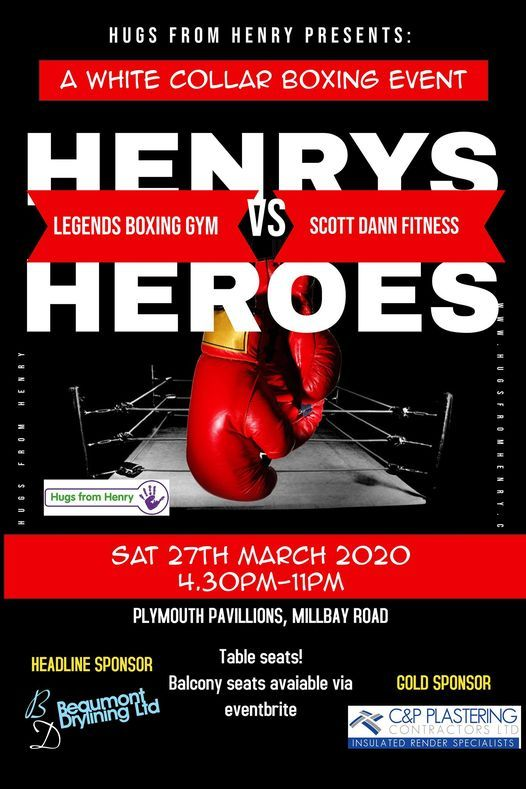 Henrys Heroes, Boxing event, 4 June   Event in Plymouth   AllEvents.in