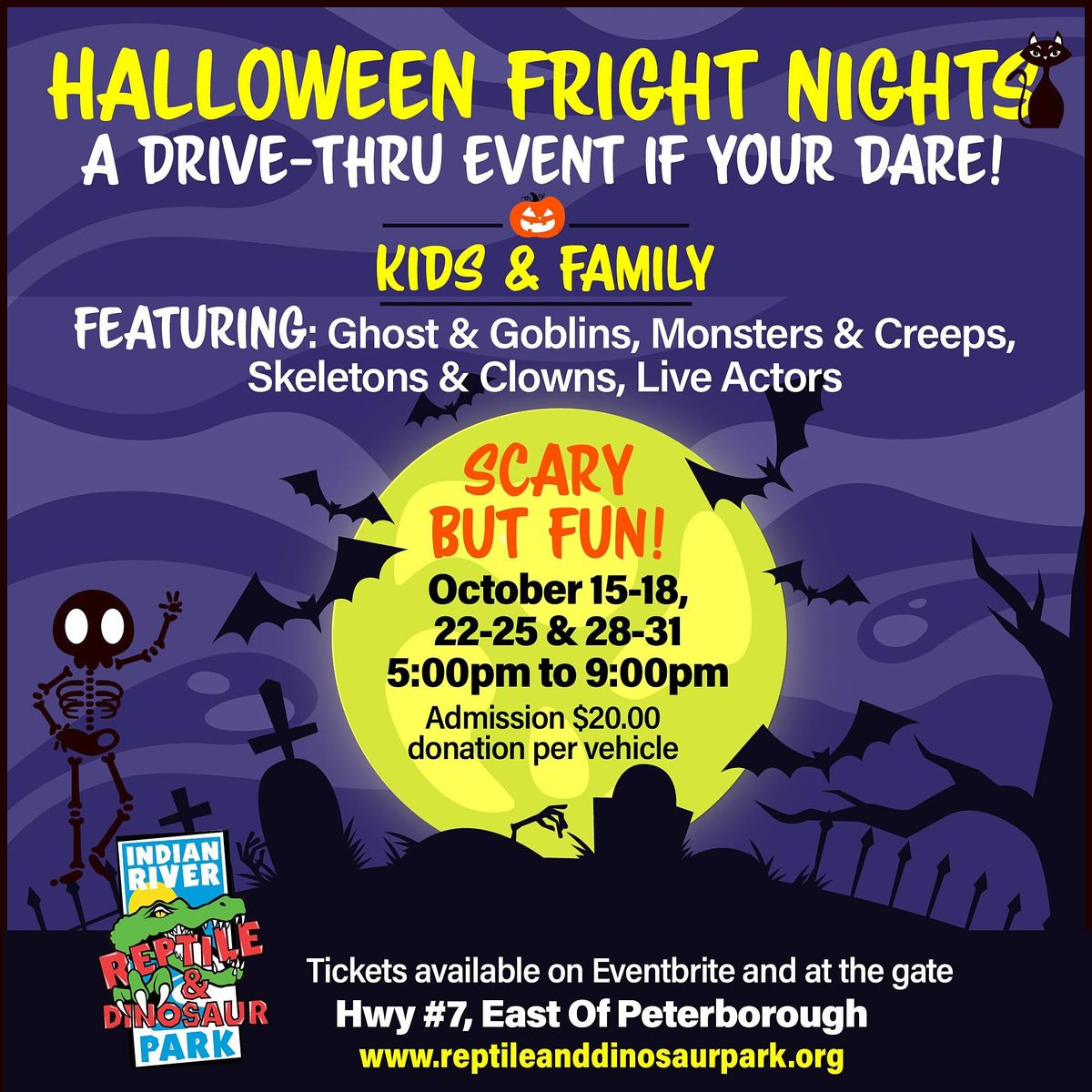 Halloween Events Today Oct 29th 2020 Halloween Fright Nights A Drive Thru Event   Thurs Oct. 29th, Thu