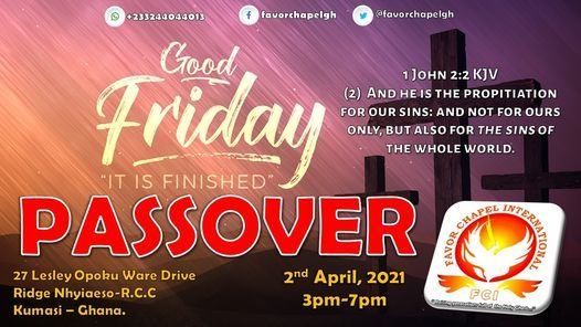 PASSOVER, 2 April | Event in Kumasi | AllEvents.in