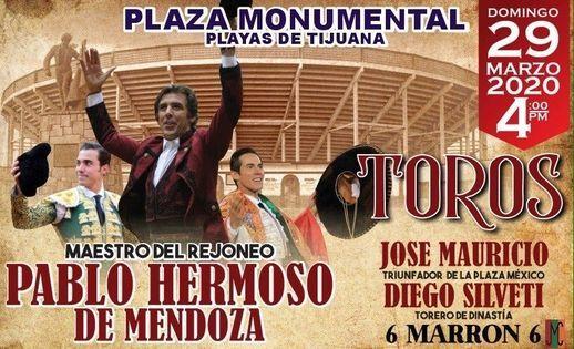 Corrida de Toros en la Monumental de Playas de Tijuana.