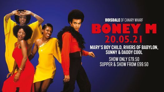 Boney M featuring Maizie Williams at Boisdale of Canary Wharf, 20 May | Event in Croydon | AllEvents.in
