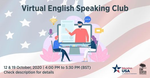 Virtual English Speaking Club (Weekly) | Event in Dhaka | AllEvents.in