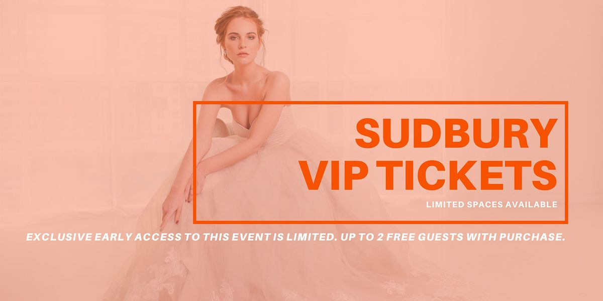 Sudbury Pop Up Wedding Dress Sale VIP Early Access, 1 May | Event in Greater Sudbury | AllEvents.in