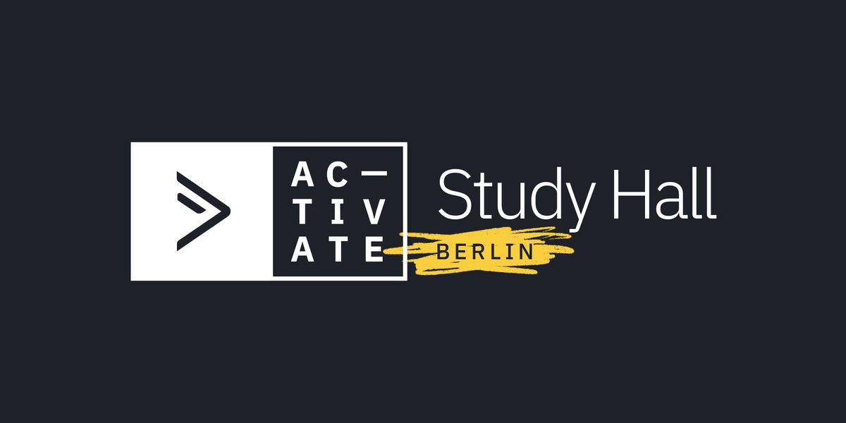 ActiveCampaign Study Hall  Berlin