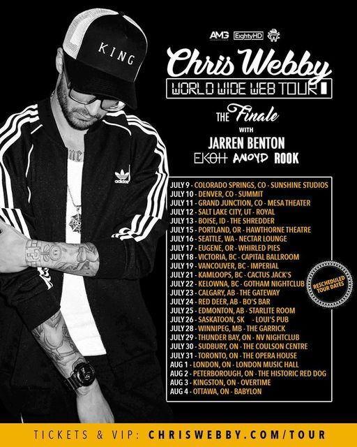 Chris Webby + Jarren Benton Live In Thunder Bay May 8th 2021, 8 May | Event in Thunder Bay | AllEvents.in