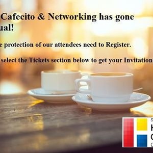 Cafecito & Networking 3rd Wednesday - Virtual Meeting Poway
