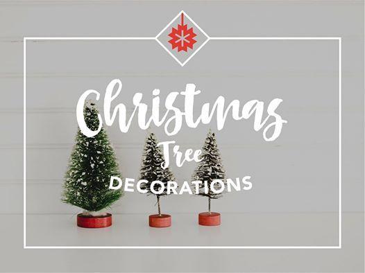 Christmas Tree Decorations At Georgian College International