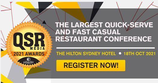 QSR Media Sandhurst Conference & Awards, 18 October | Event in Sydney | AllEvents.in