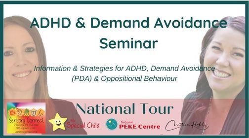 ADHD & Demand Avoidance Seminar - Darwin, 8 January | Event in Katherine East | AllEvents.in