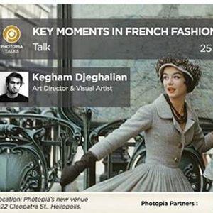 Key moments in French Fashion Heritage Talk by Kegham Djeghalian