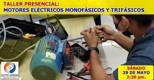 Taller: Motores monofásicos y trifásicos, 29 May   Event in Lima   AllEvents.in