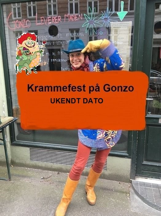 Krammefest på Gonzo - ukendt dato, 24 June | Event in Copenhagen  | AllEvents.in