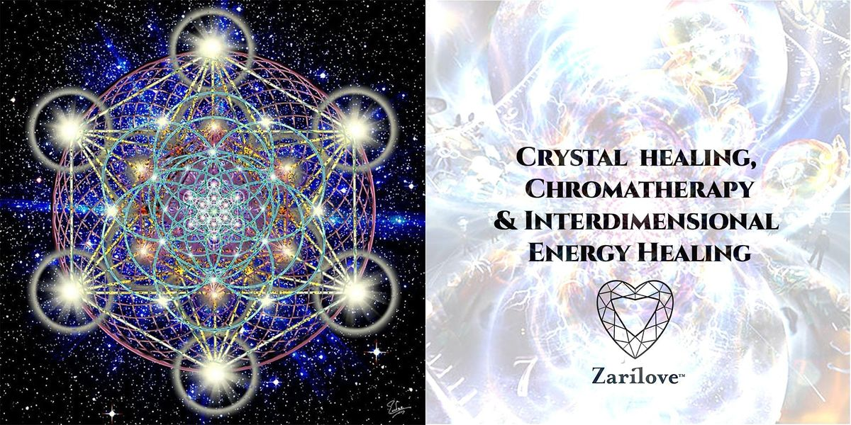 Crystal Healing with Inter-Dimensional Energy Healing -Reiki Master, 24 January | Event in Manchester | AllEvents.in