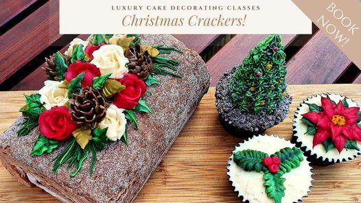 Christmas Cake Decorating Class Inc Lunch Fizz Minced Pies Viables Basingstoke 12 December