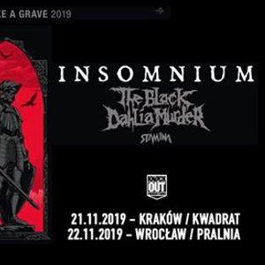 Insomnium  The Black Dahlia Mder Stam1na  22 XI  Wrocaw