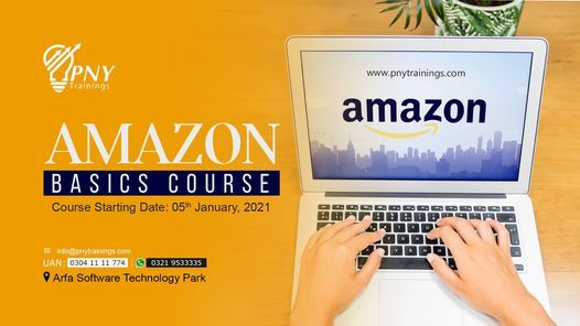 Amazon Basics Course (Arfa Tower), 5 January | Event in Gujranwala | AllEvents.in