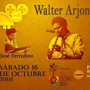Walter Arjona En Espacio El Zonko