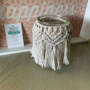 Macrame Jar Cover Workshop