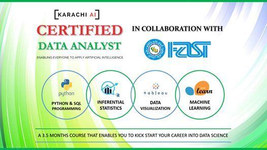 Karachi AI  Certified Data Analyst Training  Batch 4