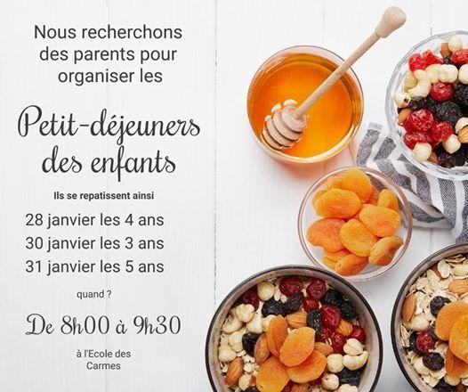 Les Petit Dejeuners At Ecole Des Carmes Monte Carlo