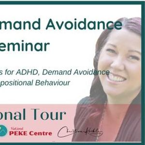 ADHD & Demand Avoidance Seminar - Darwin