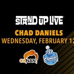 Chad Daniels at Stand Up Live