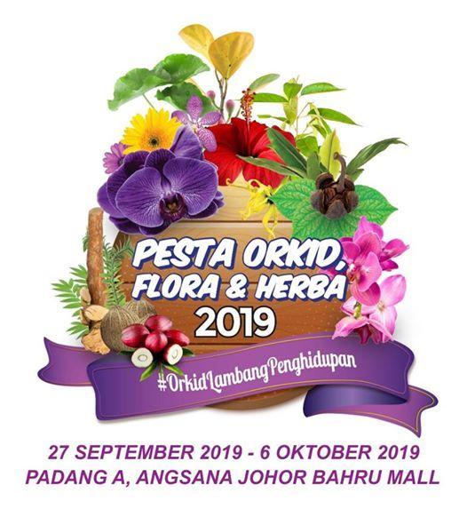 Pesta Orkid Flora & Herba Johor 2019