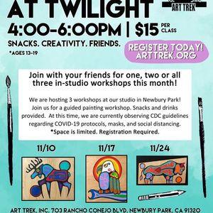 Teen Paint at Twilight