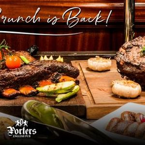 Porters Friday Brunch with Live Music