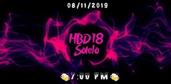 HBD 18 SOTELO & ALAN