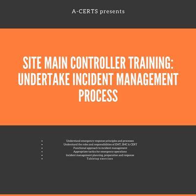 SMC Training Undertake Incident Management Process (1 Day) Run 43