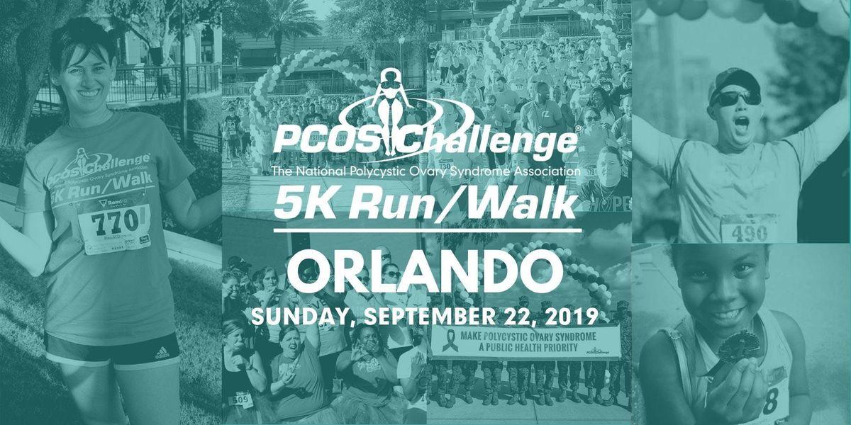 PCOS Walk 2019 - Orlando PCOS Challenge 5K RunWalk