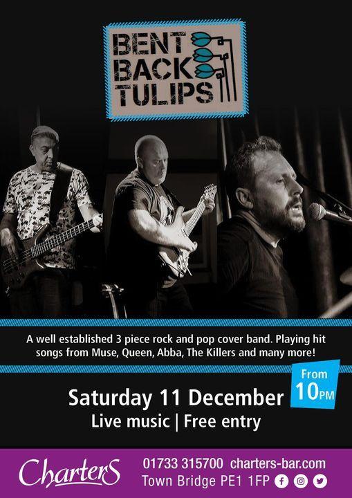 BENT BACK TULIPS, 11 December | Event in Peterborough | AllEvents.in