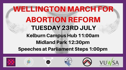 Wellington March for Abortion Reform