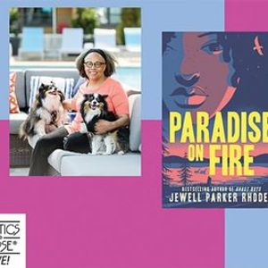 P&P Live Jewell Parker Rhodes  Paradise on Fire with Jason Reynolds
